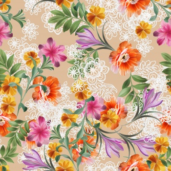 Mixed Floral Pattern