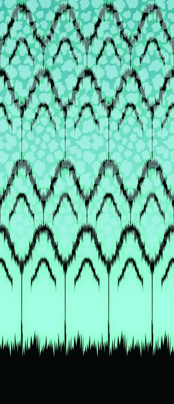 Modernised ikat