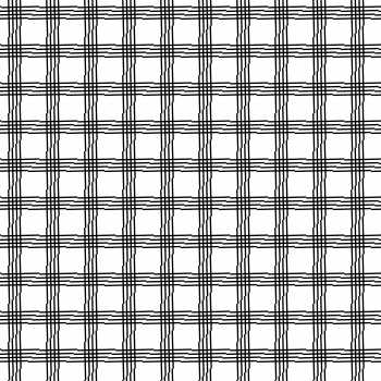 Monochrome Check-Plaid Pattern