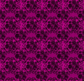 Nature motiffed lace