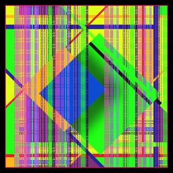 Neon Squares