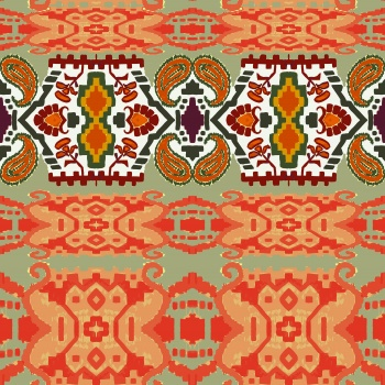 Paisley and Ethnic Ornaments