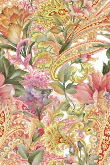 Paisley, flowers