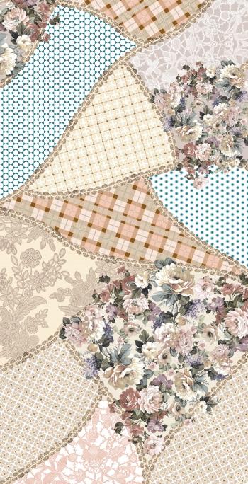 Patchwork flowers version no.2