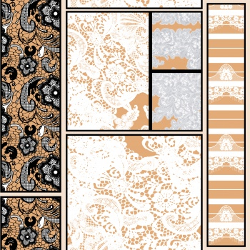 Patterned Shapes