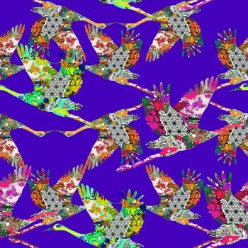 Patterned Storks
