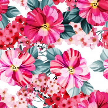 Pink Ditsies