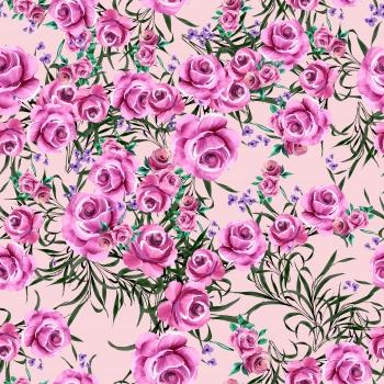 Pink Roses' Garden