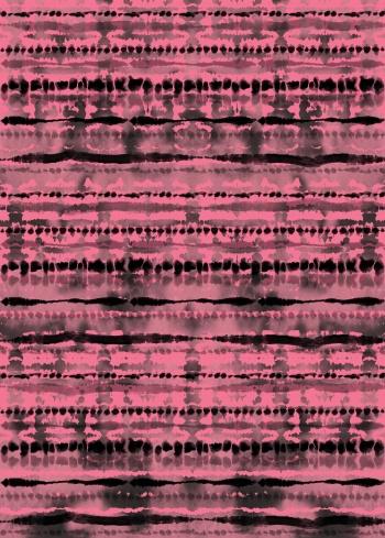 Pink-Shibori
