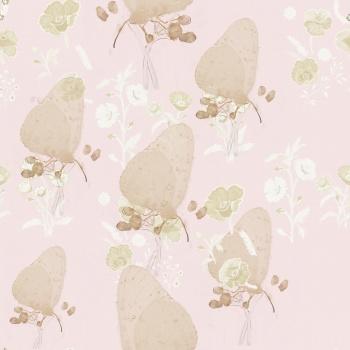 Platinum Floral,Butterflies