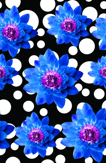 Polka dots and flowers