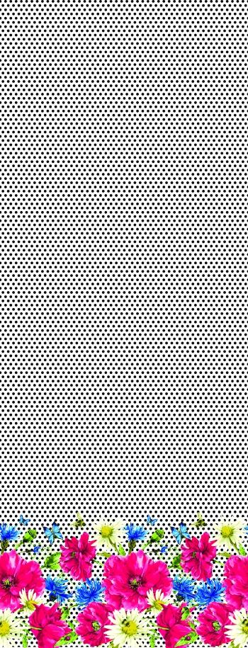 Polka dots-Flowers