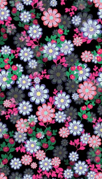 Pretty Vibrant Flowers
