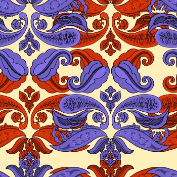 Purple and Red Ethnic