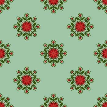 Red lotus prints