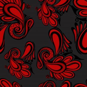 Red Paisleys