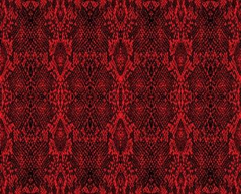 Red Snake Skin