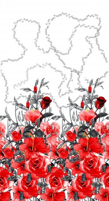 Rose&hibiscus