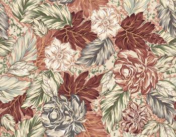 seamless floral print