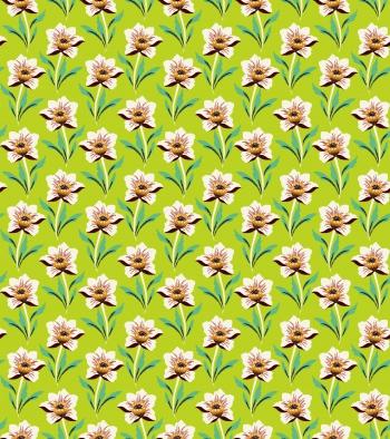 Single shaped flowers