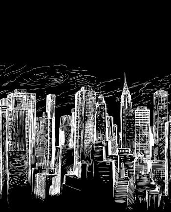 Sketch of City