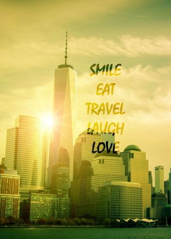 Smile Eat Travel Laugh Love