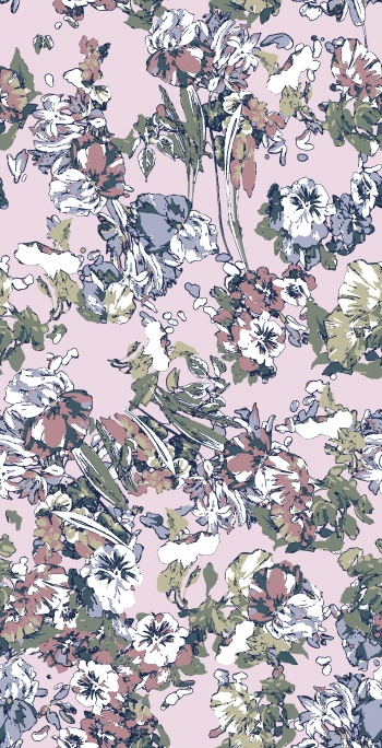 Soft floral design
