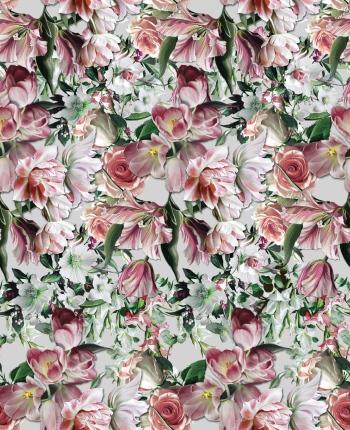Soft flower`s garden