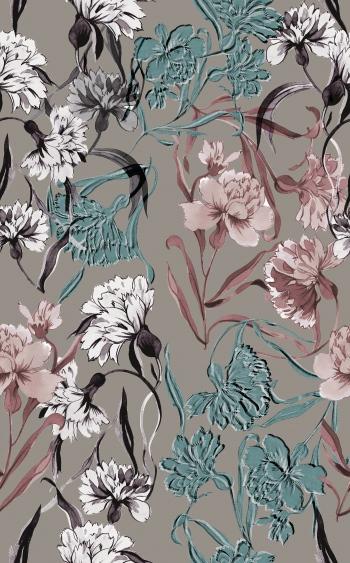 Stylised carnations
