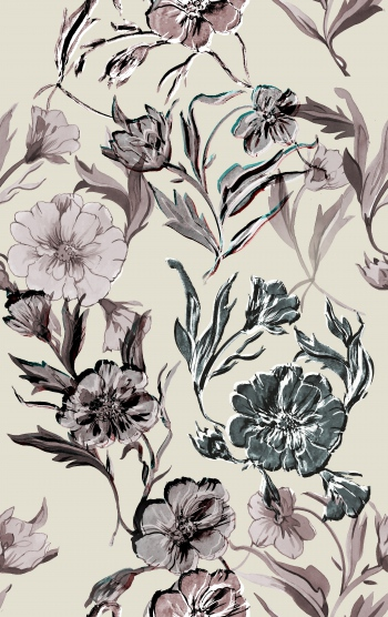 Stylised flowers