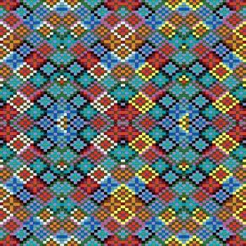 Textured Ethnic Motifs