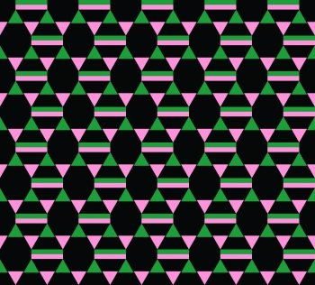 Triangles make stars