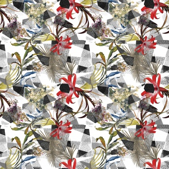 Tropical Floral Pattern