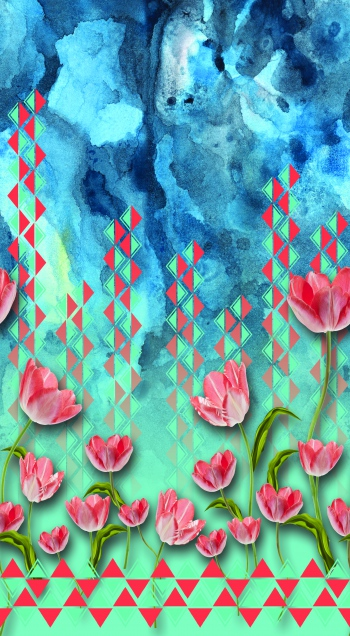 Tulips and arrows
