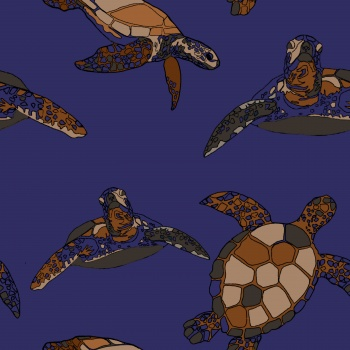 Turtles Pattern