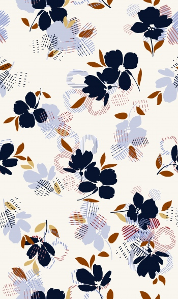 Ultramarine flowers