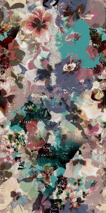Un-Transparent floral design