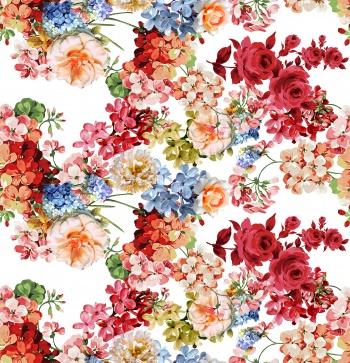 Vivid Floral Garden
