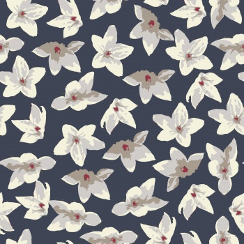 Watercolor flower pattern
