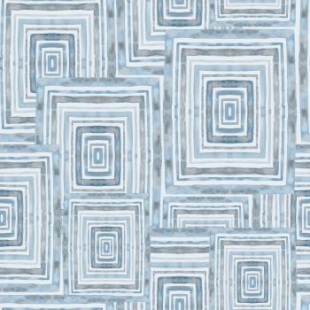 Watercolor geometryczny pattern