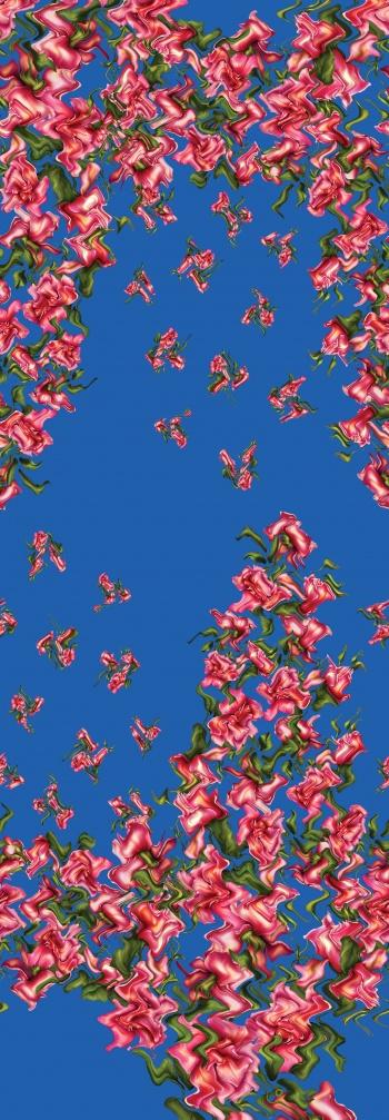 Wavy roses