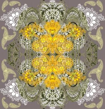 Yellow Paisleys
